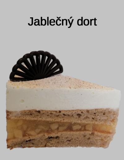 Jablečný dort - Cukrárna Jiřina