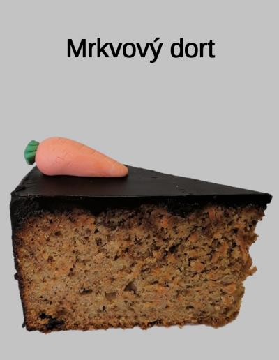 Mrkvový dort - Cukrárna Jiřina