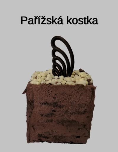Pařížská kostka - Cukrárna jiřina