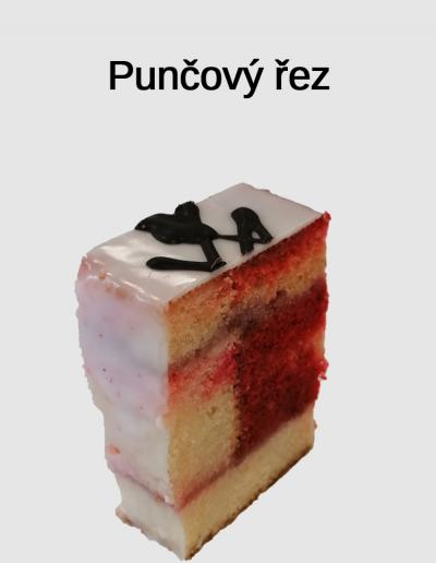 Punčový řez - Cukrárna Jiřina