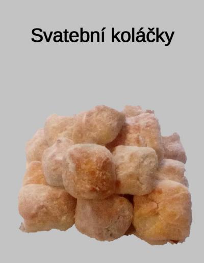 Svatební koláčky - Cukrárna Jiřina