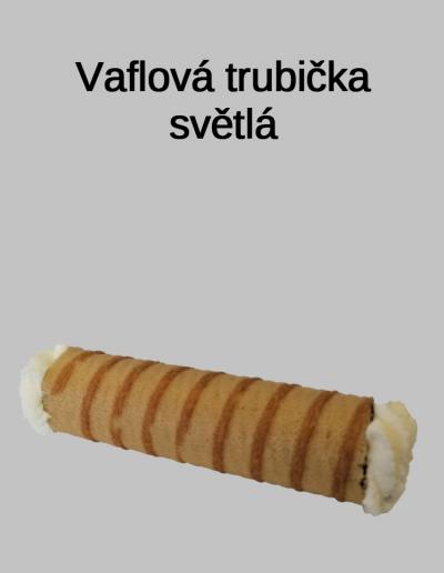 Vaflová trubička světlá - Cukrárna Jiřina