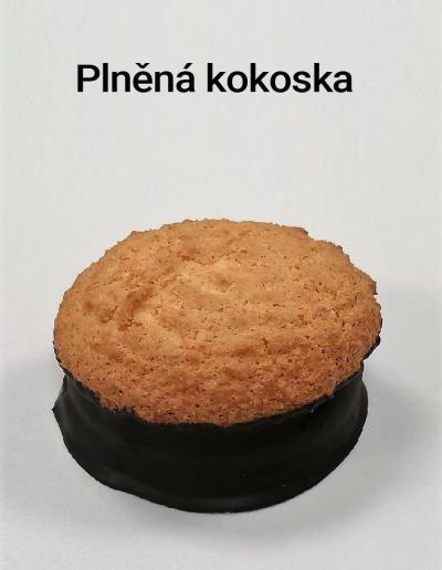 Plněná kokoska